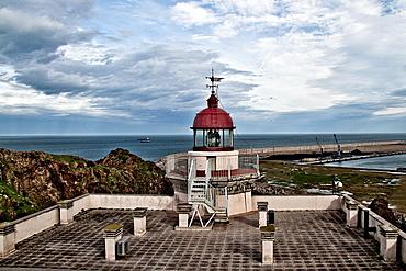 Lighthouse Gijon, Asturias, Spain