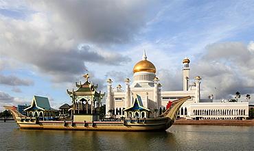 Brunei, Bandar Seri Begawan, Omar Ali Saifuddien, Mosque,