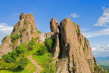 Kaleto fortress, Belogradchik rocks, Belogradchik, Bulgaria.