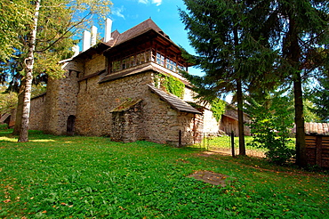 orthodox church, Gura Humorului, Bukovina, Romania
