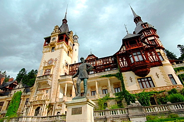 Pele Castle, Transylvania, Romania, Europe