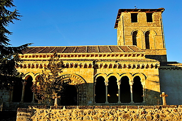 Romanesque church, Sotosalbos, Segovia, Spain