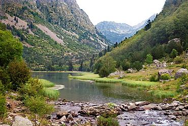 Reservoir of Cavallers in Aigues-Tortes N P