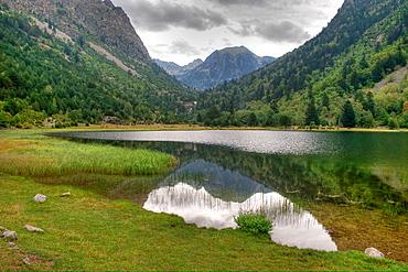 Llebreta Lake in Aigues-Tortes N P