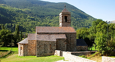 St Feliu Church of Barruera of Boi Valley