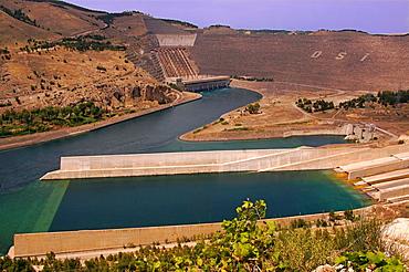 Ataturk Dam, near Bozova, Turkey