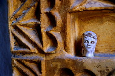Detail of a fireplace in a private home, Goreme, Cappadocia, Turkey