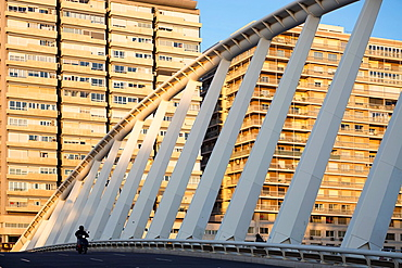 Calatrava bridge, Valencia, Spain