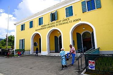 Post Office Emancipation Gardens St Thomas Virgin Islands USVI Caribbean US Territory Charlotte Amalie