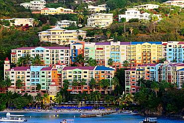 Charlotte Amalie Harbor St Thomas Virgin Islands USVI Caribbean US Territory