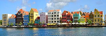 Handelskade Merchant Houses Willemstad Curacao Curacao Dutch Caribbean Island Netherlands