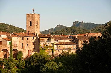 Santa Pau,Gerona,Spain