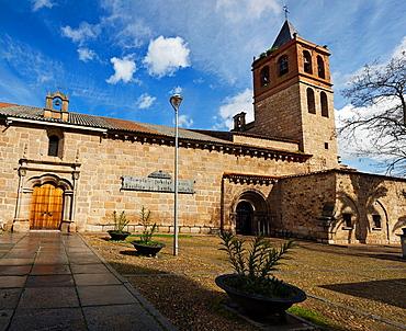 Santa Eulalia basilica in Merida Badajoz Extremadura Spain