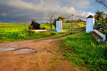 Land lot in Don Alvaro. Badajoz. Extremadura. Spain.