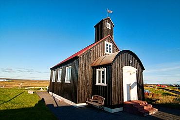Hafnir Church in Reykjanes, Southwest Iceland
