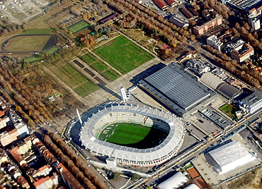 The Olympic stadium in Turin, hosted the winter Olympics in 2006