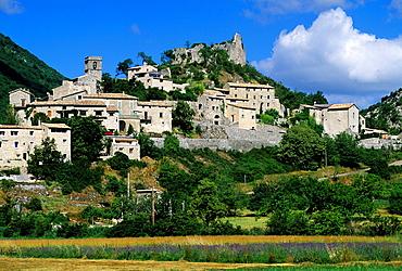 Reilhanette, Drome department, region of Rhone-Alpes, France, Europe
