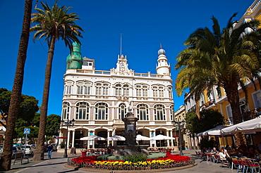 Plazoleto Cairasco square Triana district Las Palmas city Gran Canaria island the Canary Islands Spain Europe