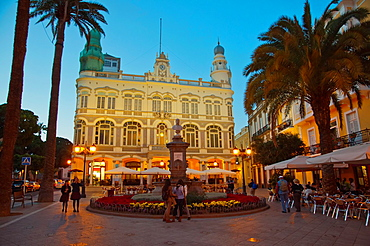 Plazoleto Cairasco square Triana district Las Palmas city Gran Canaria island the Canary Islands Spain Europe