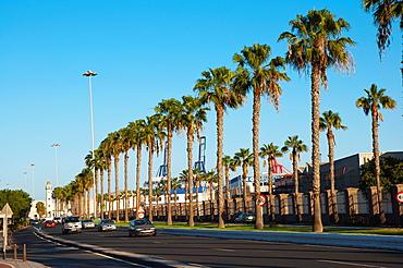 Avenida Juan Rodriguez Doreste street La Isleta district north Las Palmas city Gran Canaria island the Canary Islands Span Europe