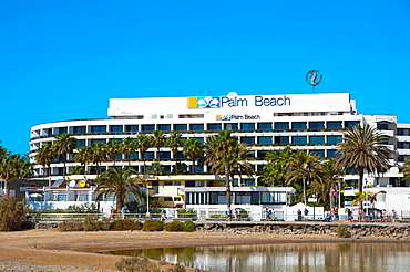 Hotel Palm Beach at Maspalomas resort Gran Canaria island the Canary Islands Spain Europe