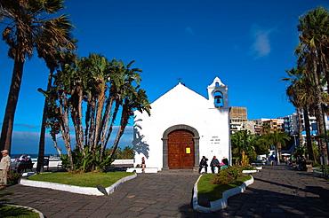 Ermita San Telmo church Puerto de la Cruz city Tenerife island the Canary Islands Spain Europe