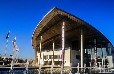 Palacio de Congresos Convention Center by Norman Foster,Valencia,Spain