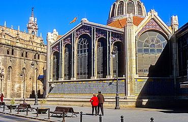 Central Market,Valencia,Spain
