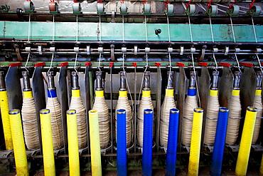 Ecuador, Salinas, 'Hilanderia' spinning mill.