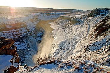Logberg Waterfalls, Iceland