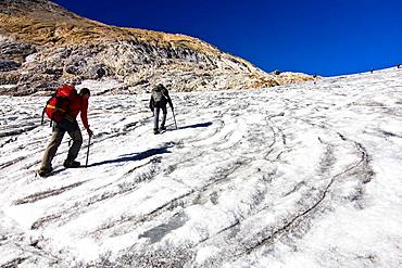 Glacier Ossoue, Vignemale, Ossoue Valley, Gavarnie, Hautes Pyrenees, France, Europe