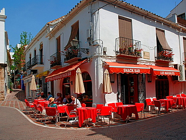 Urban view, Old town, Marbella, Malaga-province, Spain
