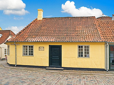 Birthplace from the writer Hans Christian Andersen, Odense Municipality, Region Syddanmark, Funen island, Denmark, Europe