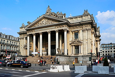 Brussels Stock Exchange, Belgium
