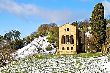 Church of St Maria del Naranco, Unesco World Heritage Site, Oviedo, Asturias, Spain