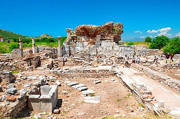 Antique city of Ephesus, Efes, Turkey, Western Asia