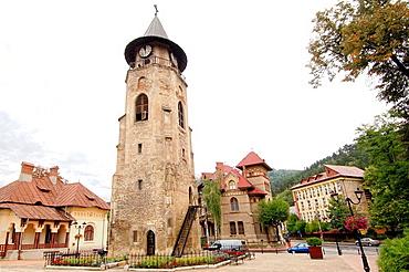 Stephen's Tower, Independence Square, Piatra-Neamt, Transylvania, Romania, Europe