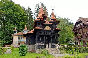 Black Orthodox Church, Sovata, Romania, Europe