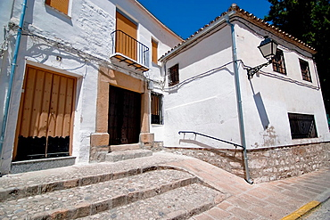 Street of Sabiote, Jaen province, Spain