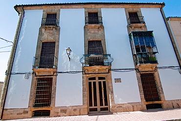 Facade of the 19th century, Sabiote, Jaen, Spain