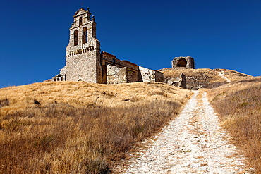 Ruins of Mota del Marques, province of Valladolid, Castile and Leon, Spain