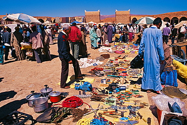 Weekly Market, Tinerhir, South of Morocco