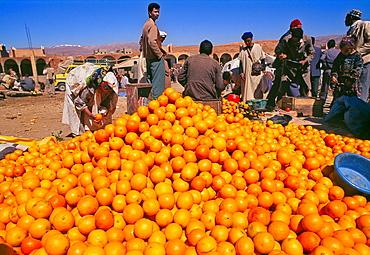 Oranges, Weekly Market, Tinerhir, South of Morocco