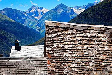Vilamos  Aran Valley region  Pyrenees  Lleida province  Catalunya Catalonia  Cataluna  Spain.