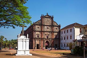 India, Goa State,Old Goa City (W.H.), Bom Jesus Basilica, St. Francisco Javier Church,