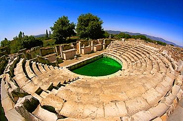 Theatre, Aphrodisias, Turkey