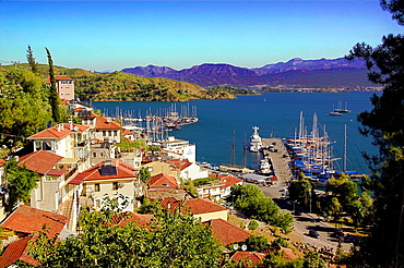 Fethiye (Greek , 'Makri') is a city and district of Mugla Province in the Aegean region of Turkey