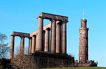 Calton Hill, Edinburgh, Scotland, UK.