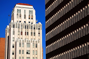 The art deco Luhrs Tower in Downtown Phoenix  Arizona  USA.