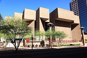Phoenix Symphony Hall in Downtown Phoenix  Arizona  USA.